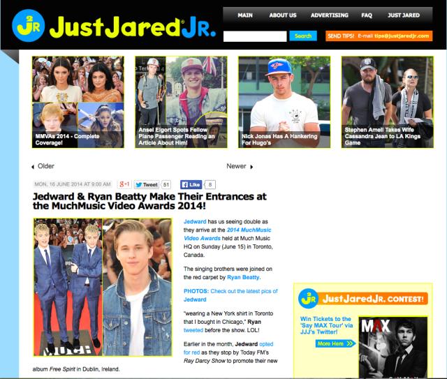 Just Jared Jr