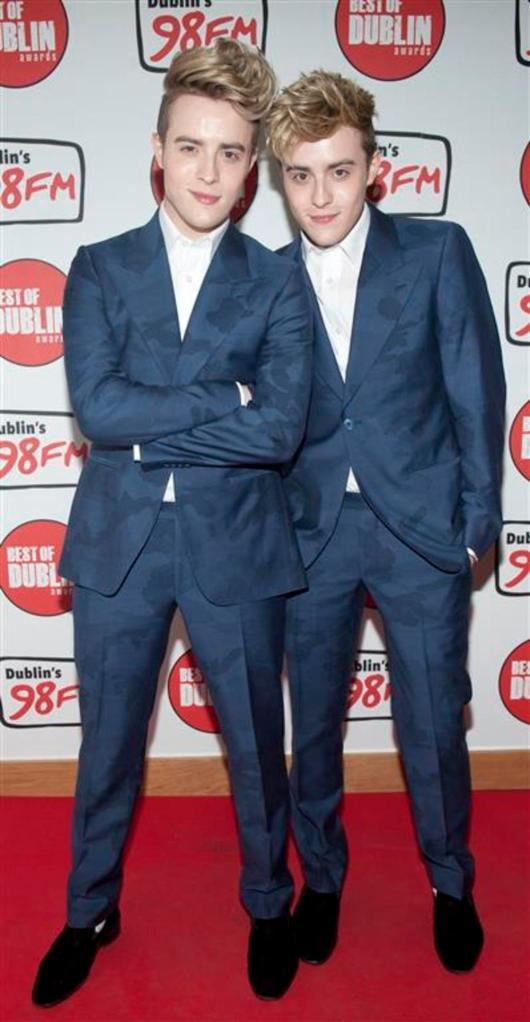 "John and Edward at 98FM's ""Best of Dublin"" Awards"