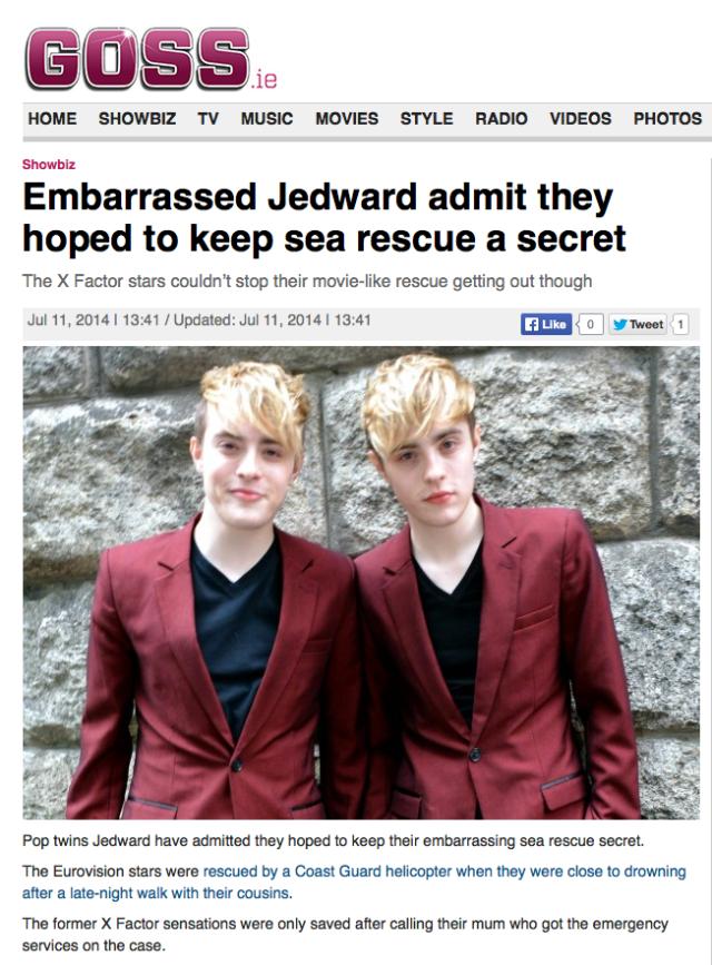 John and Edward Goss 11/7/2014