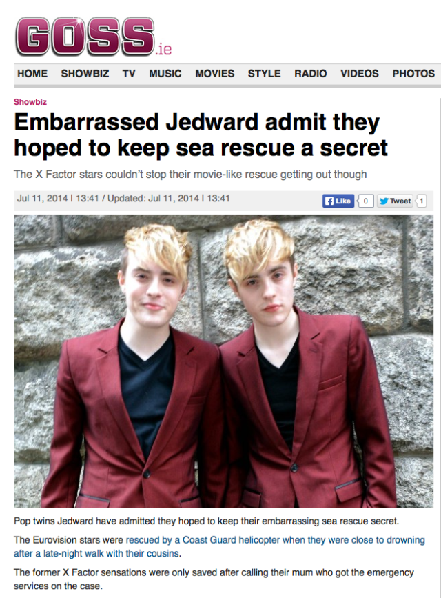 John and Edward Goss 11/7/2014