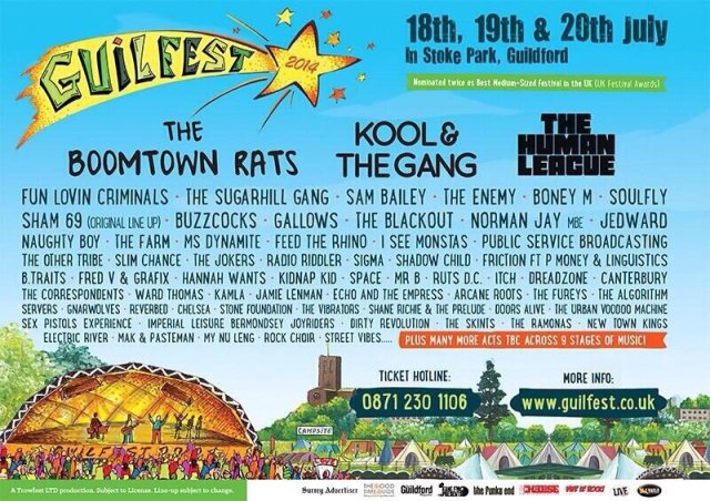 Guilfest Poster