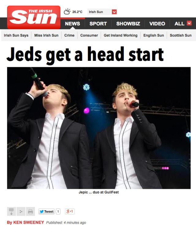 Jeds Get a Head Start 1