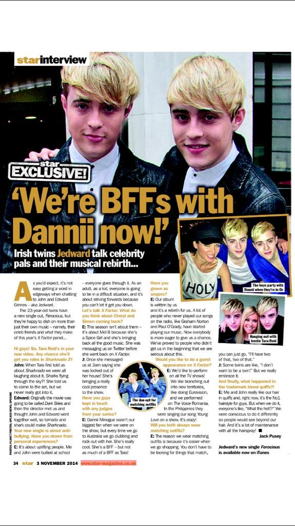 John and Edward in Star Mag