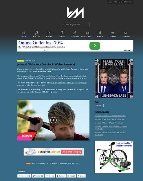"""FireShot Screen Capture #018 - 'Ultimate Music I Jedward """"Make Your Own Luck"""" (Video Premiere)' - www_josepvinaixa_com_blog_jedward-make-your-own-luck-video-premiere"""