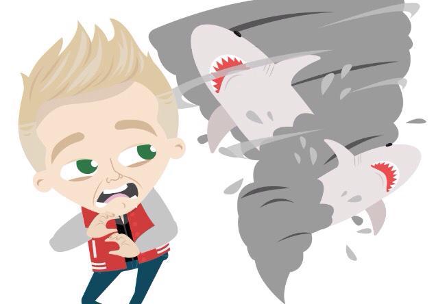 Jedward Sharknado