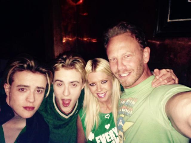 St Patricks' Day with Tara and Ian Z