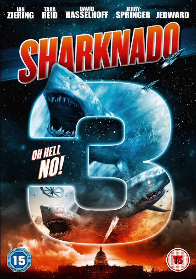 Sharknado 3 cover