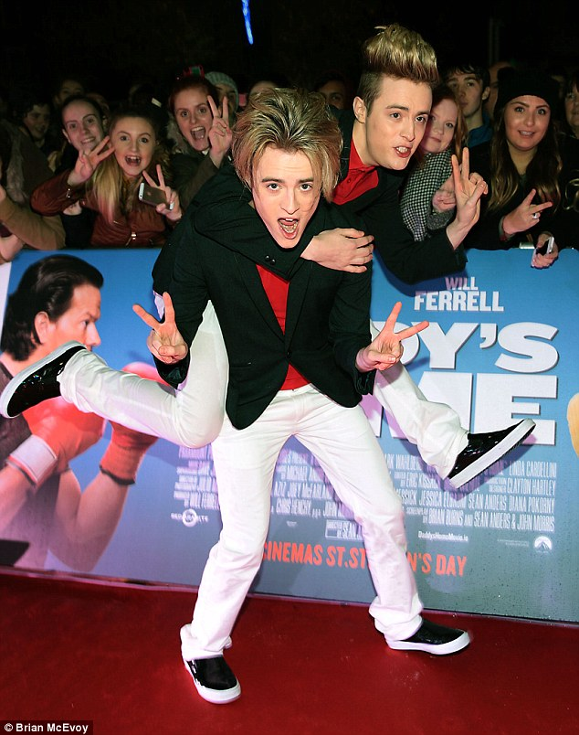 Jedward at Daddy's Home Premiere photo credit Brian McEvoy