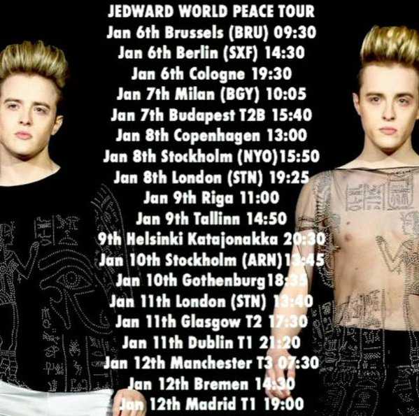 Jedward World Peace Tour